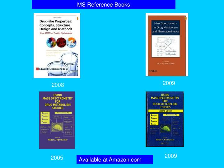 MS Reference Books