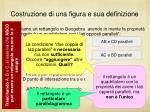 costruzione di una figura e sua definizione8