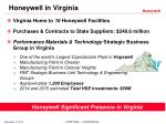 honeywell in virginia
