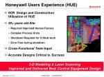 honeywell users experience hue