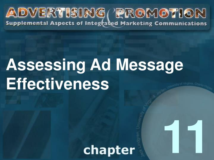 assessing ad message effectiveness n.