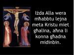 i da alla wera m abbtu lejna meta kristu miet g alina a na li konna g adna midinbin