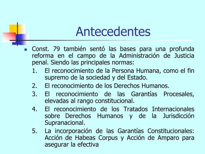 Antecedentes1