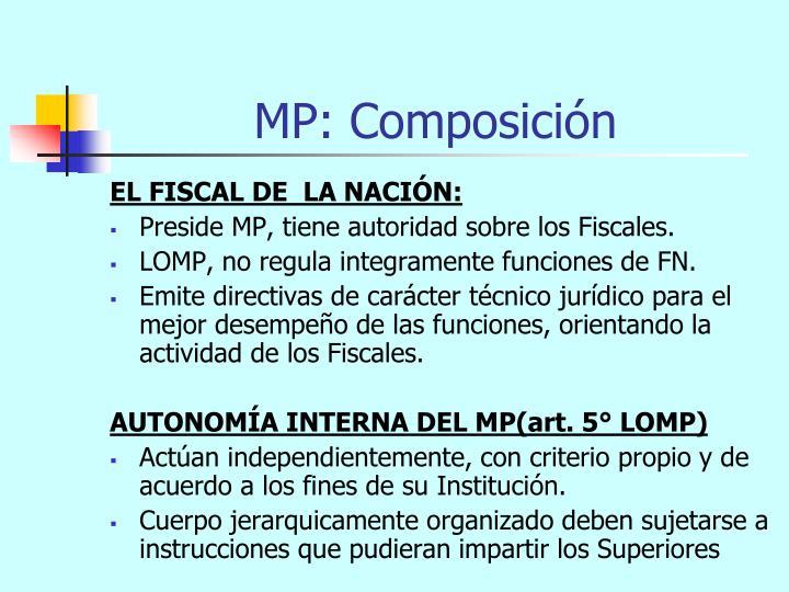 MP: Composición