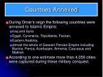 countries annexed