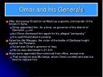 omar and his generals1