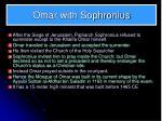 omar with sophronius