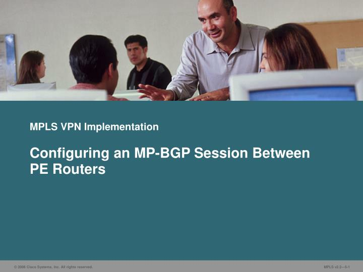 mpls vpn implementation n.