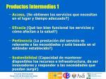 productos intermedios 1