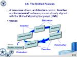 3 6 the unified process