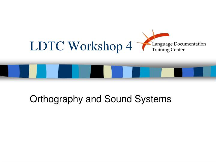 ldtc workshop 4 n.