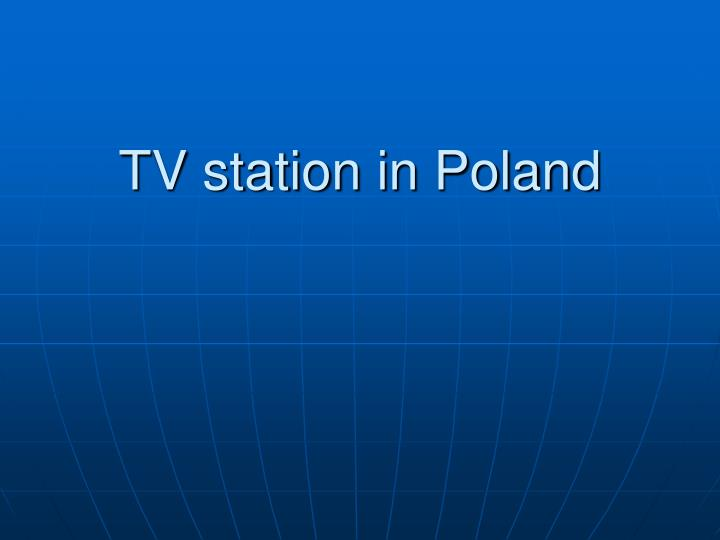 tv station in poland n.