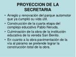 proyeccion de la secretaria1