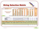 hiring selection matrix10