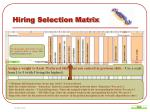 hiring selection matrix5