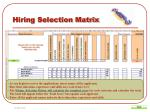 hiring selection matrix6