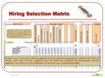 hiring selection matrix7