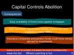 capital controls abolition