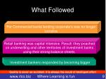 what followed2