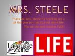 mrs steele