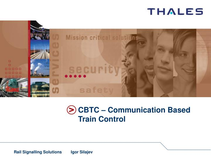 cbtc communication based train control n.