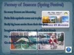 fantasy of seasons spring festival