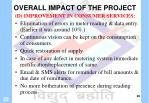overall impact of the project2