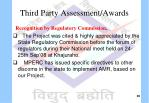 third party assessment awards1