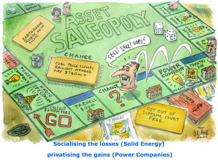 Socialising the losses (Solid Energy)