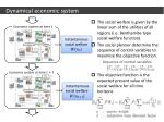 dynamical economic system