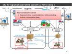 multi regional economic system at time step5