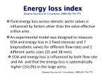 energy loss index damien garcia et al circulation 2000 101 765 771