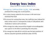 energy loss index damien garcia et al circulation 2000 101 765 7711