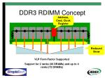 ddr3 rdimm concept