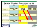 server market perspective 1
