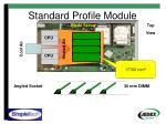 standard profile module