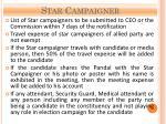 star campaigner