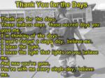 thank you for the days1