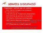 serveis d ocupaci