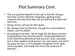 plot summary cont2