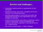 barriers and challenges 2