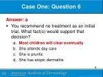 case one question 61