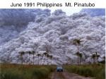 june 1991 philippines mt pinatubo