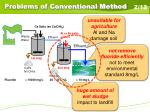 problems of conventional method