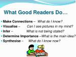 what good readers do1
