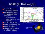 wise pi ned wright