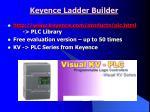 keyence ladder builder