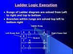 ladder logic execution