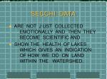 secchi data