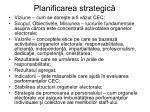 planificarea strategic